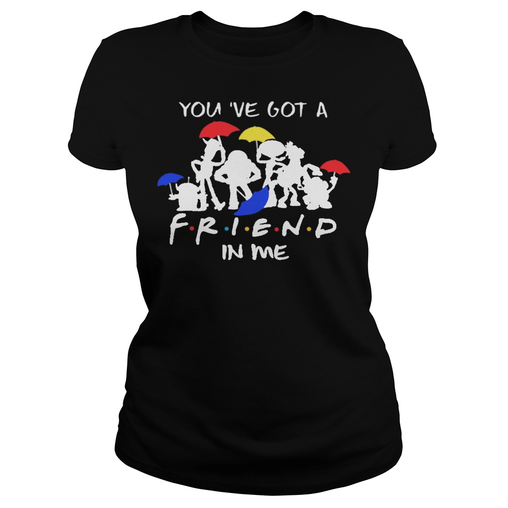 Disney toy story you've got a friend in me ladies tee