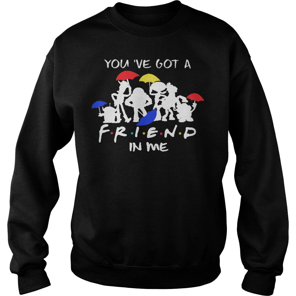 Disney toy story you've got a friend in me sweater
