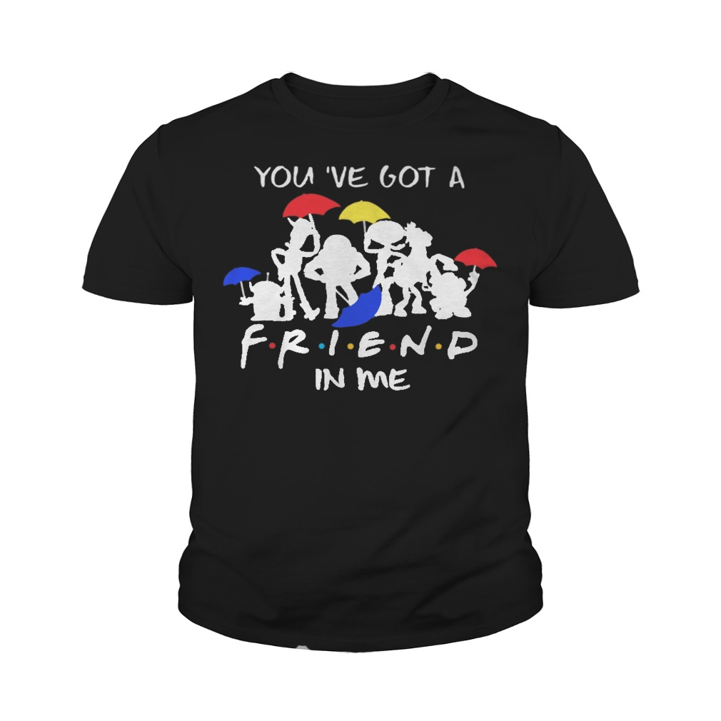Disney toy story you've got a friend in me youth tee