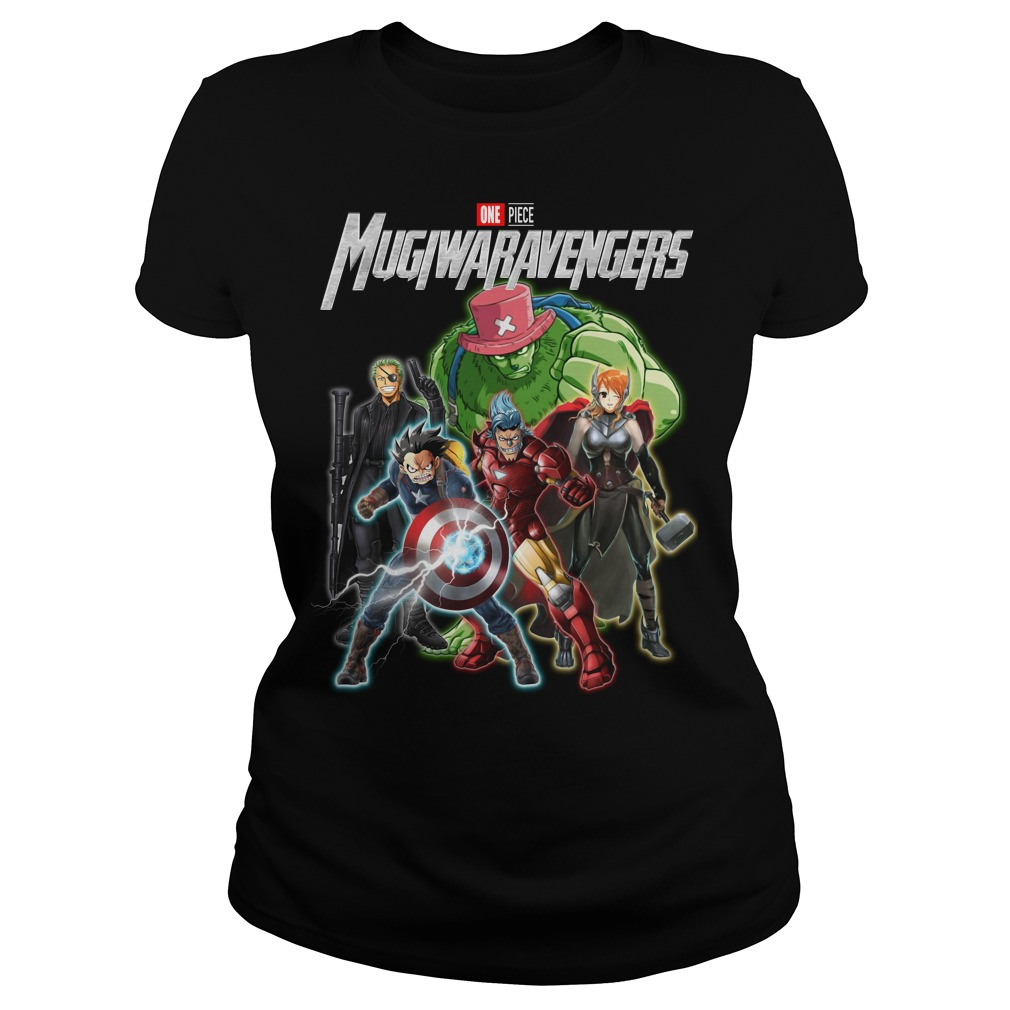 Marvel Avengers One piece Mugiwaravengers ladies tee