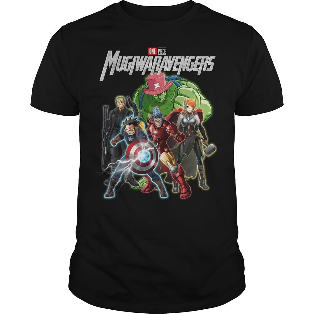 Marvel Avengers One piece Mugiwaravengers shirt