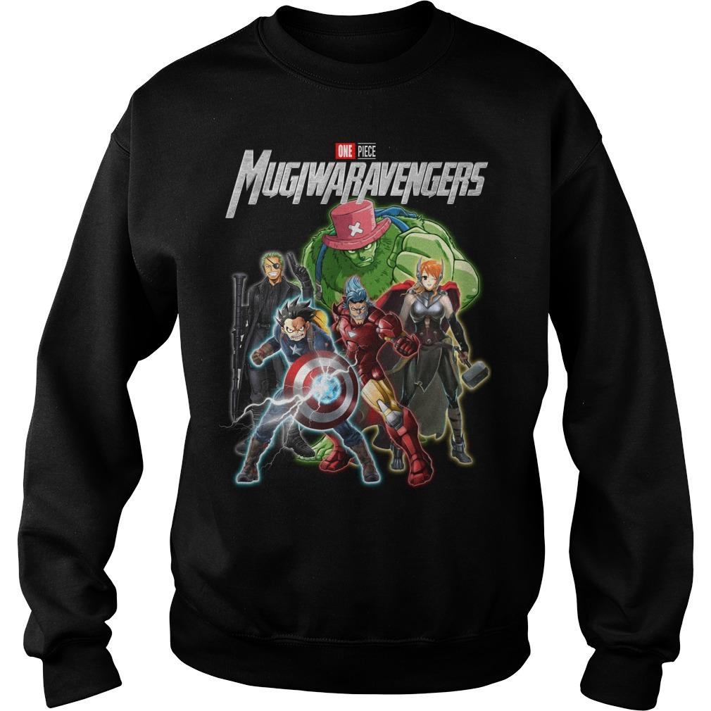 Marvel Avengers One piece Mugiwaravengers sweater