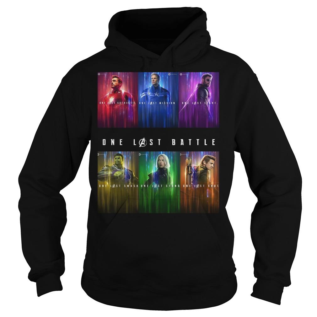 Marvel one last battle hoodie