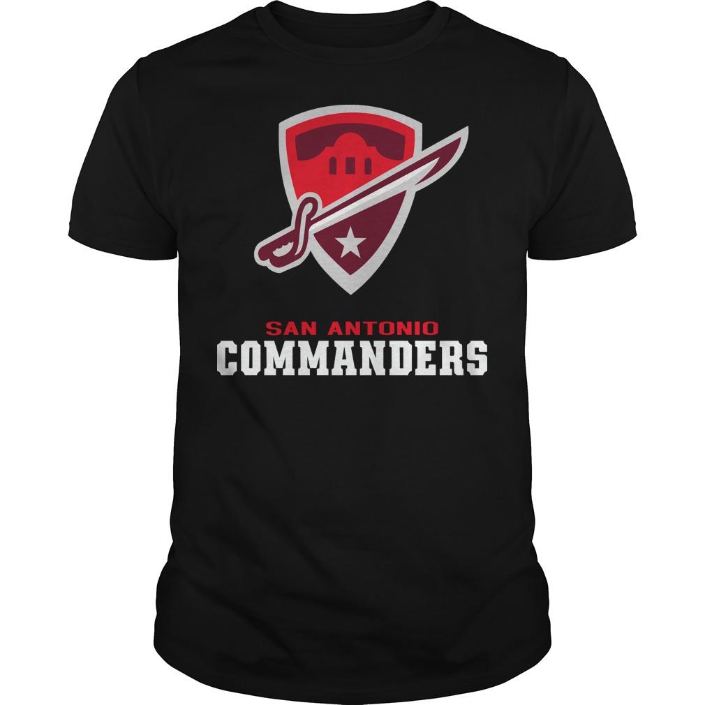 San Antonio commanders shirt