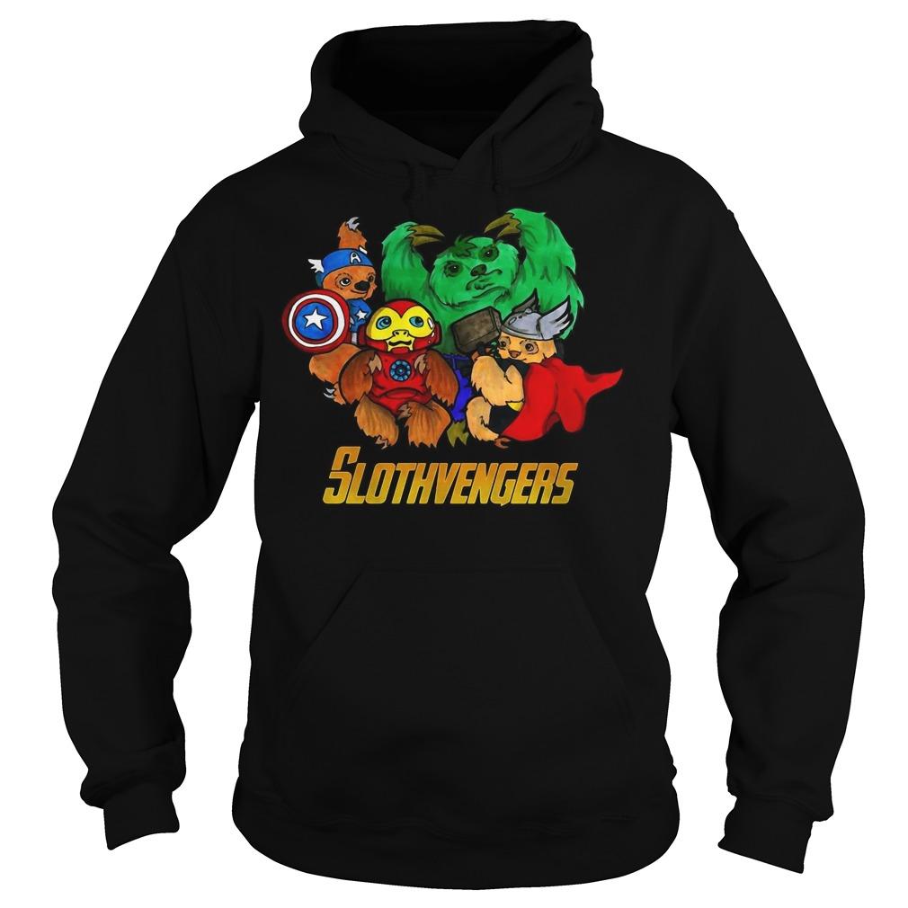 Slothvengers sloth Avengers Endgame hoodie