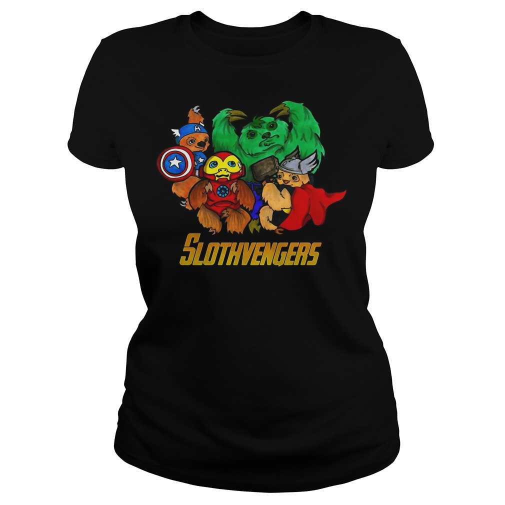 Slothvengers sloth Avengers Endgame ladies tee