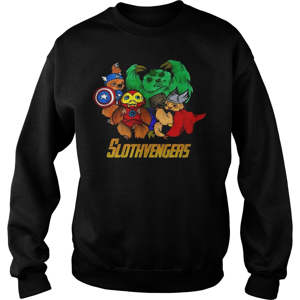 Slothvengers sloth Avengers Endgame sweater