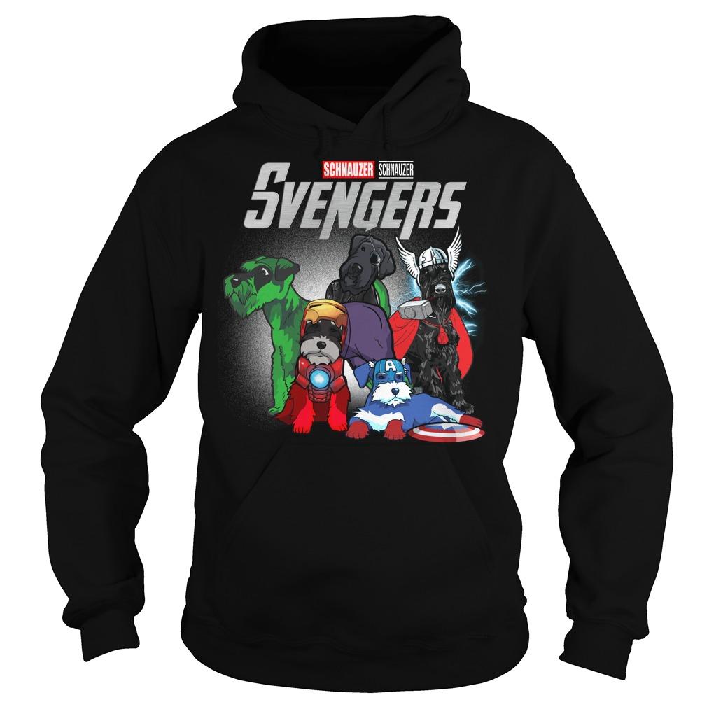 Svengers Schnauzers Avengers Endgame hoodie