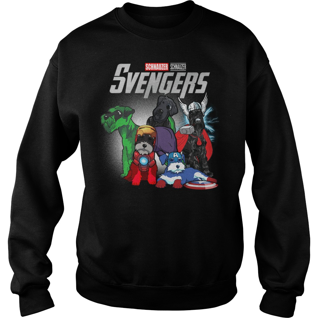 Svengers Schnauzers Avengers Endgame sweater
