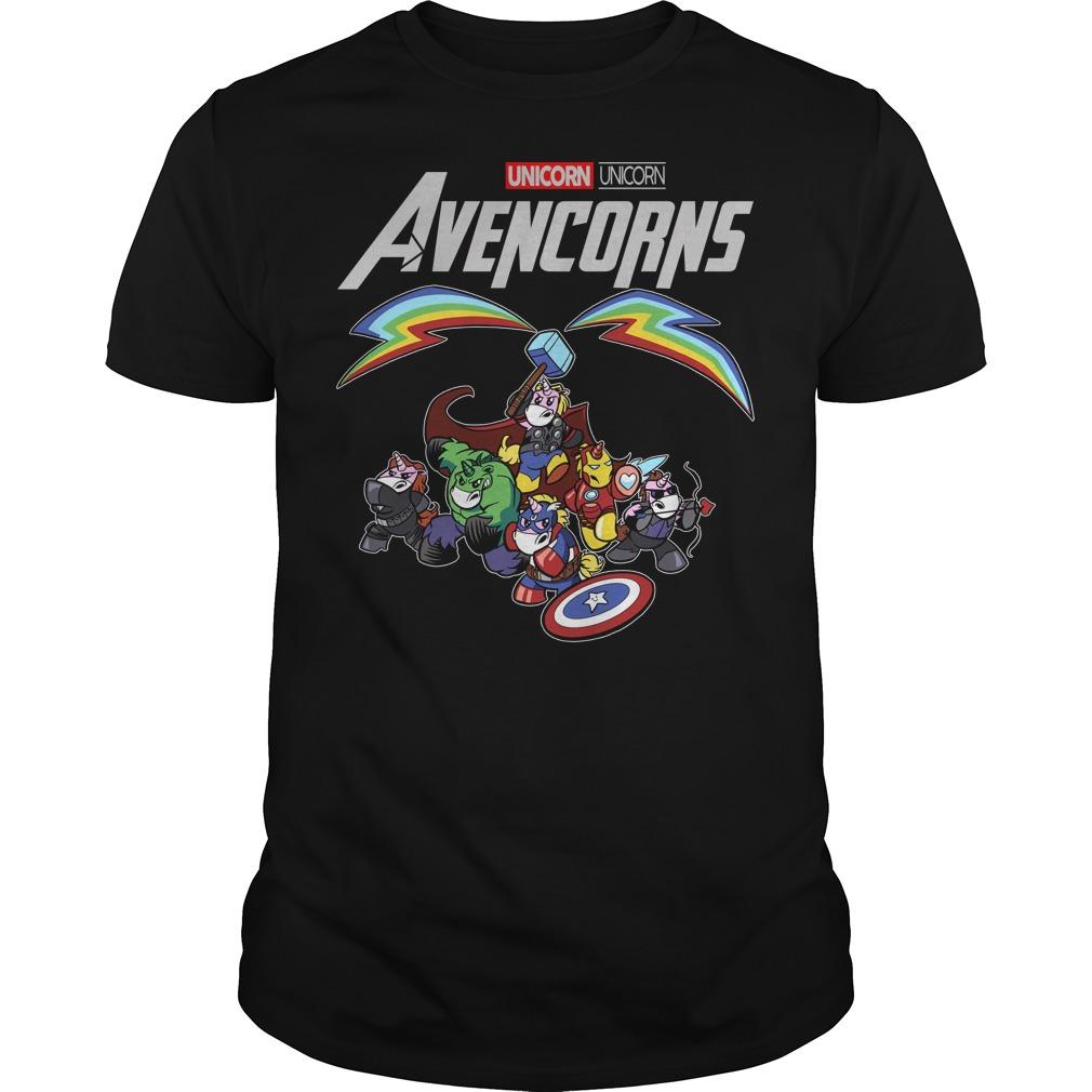 Unicorn Avencorns Avengers Marvel Endgame shirt