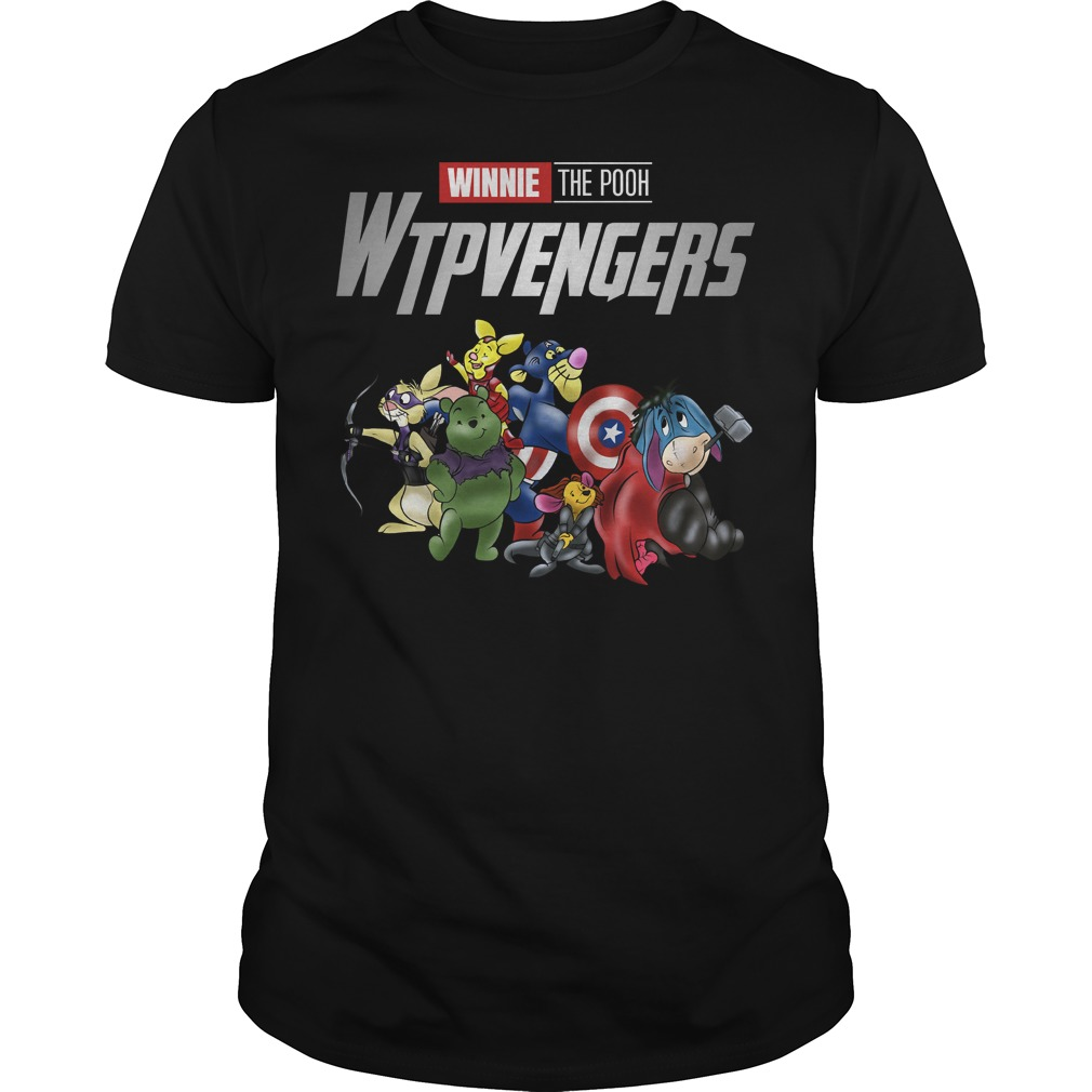 WTPvengers Winnies the Pooh Avengers Endgame shirt
