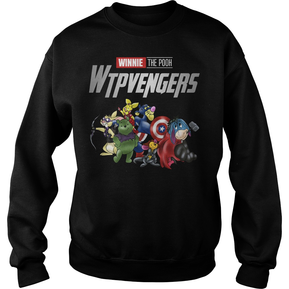 WTPvengers Winnies the Pooh Avengers Endgame sweater