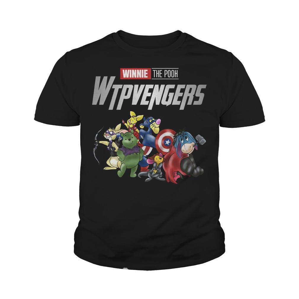 WTPvengers Winnies the Pooh Avengers Endgame youth tee