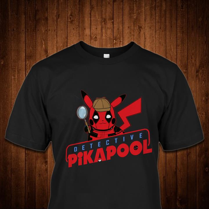 Detective Pikapool Pokemon shirt
