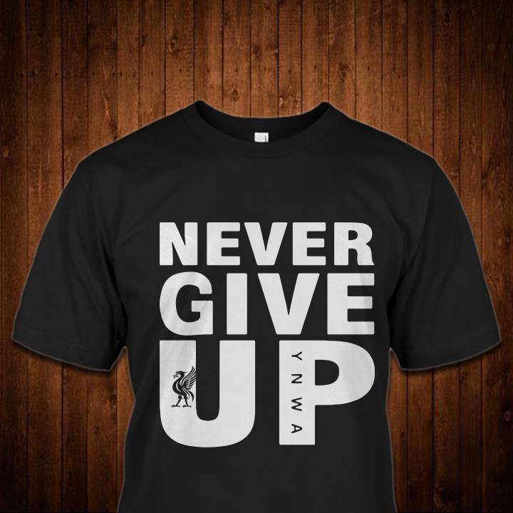 Mohamed Salah Never Give Up Black B shirt