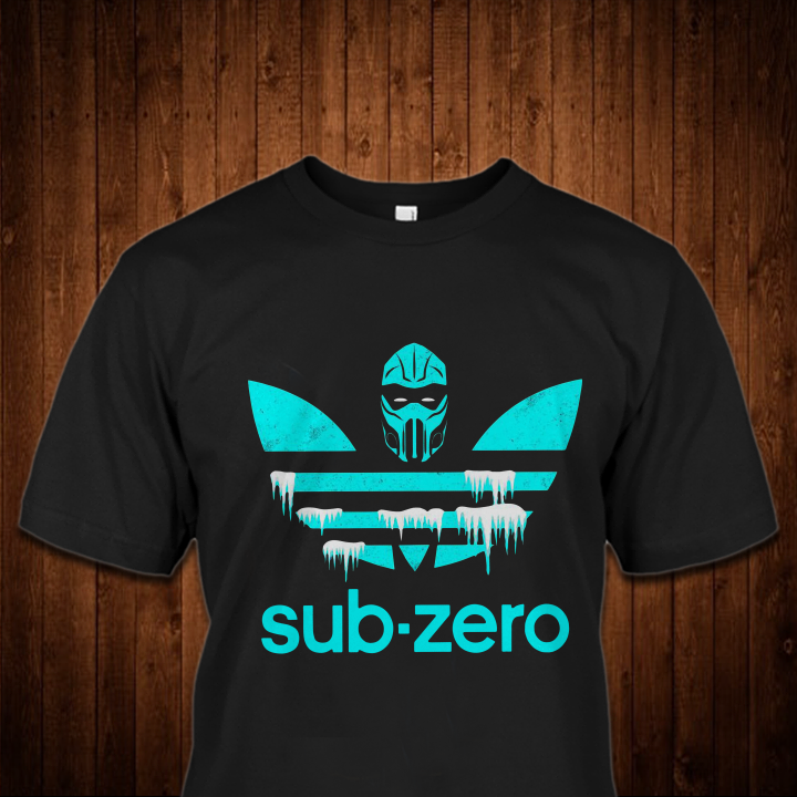 Mortal Kombat Sub Zero Adidas Shirt