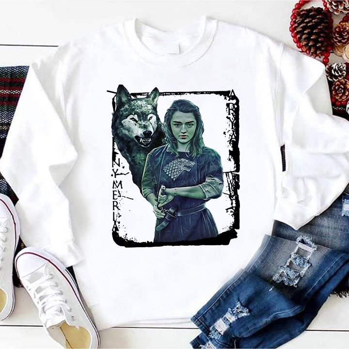 Nymeria Arya Stark Game Of Thrones shirt