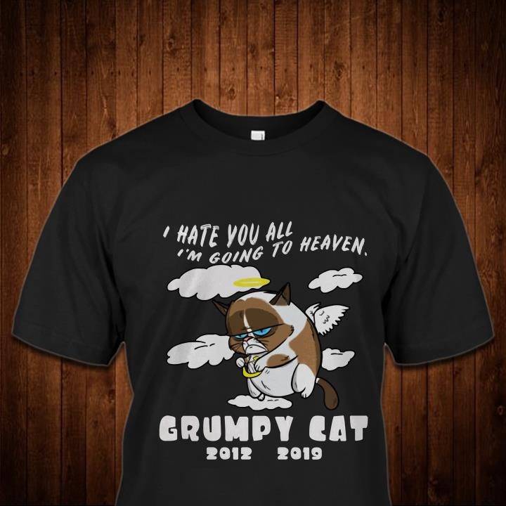 R.I.P Grumpy Cat is Dead 2012-2019 shirt