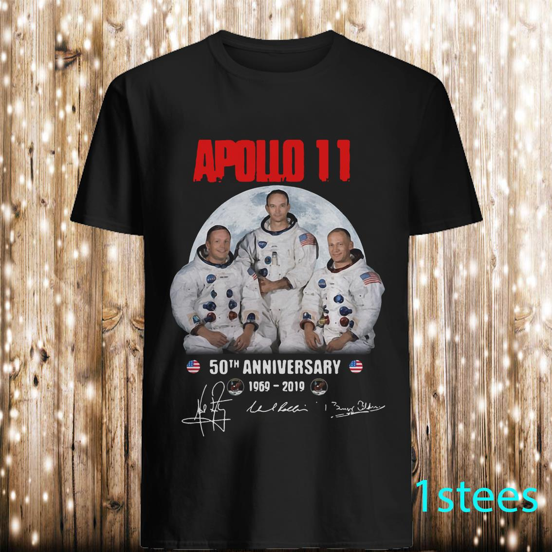 Apollo 11 50th Anniversary Walking on The Moon Shirt