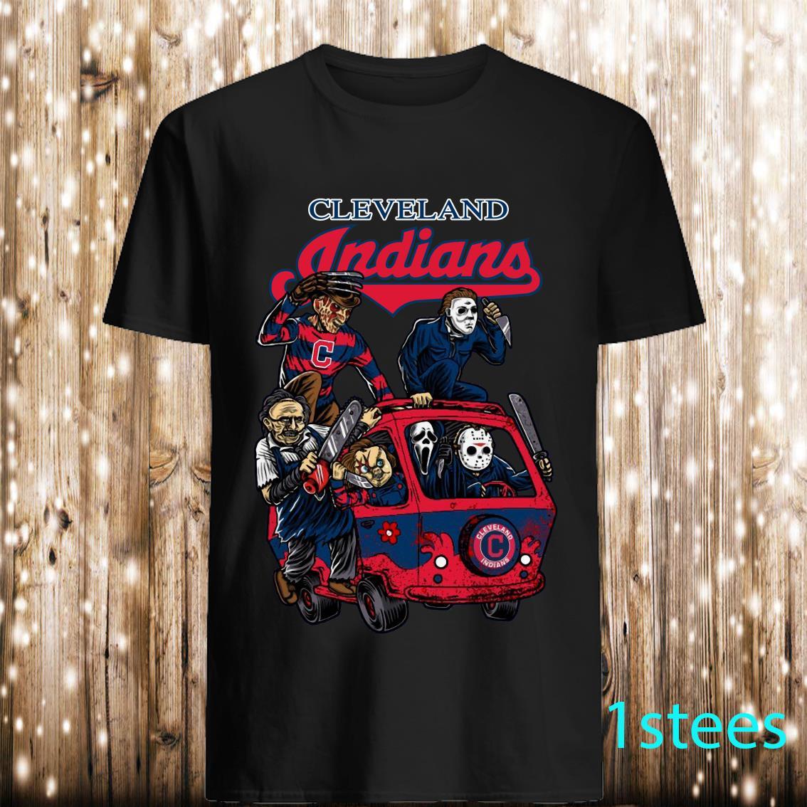 Cleveland Indians The Massacre Machine Horror shirt