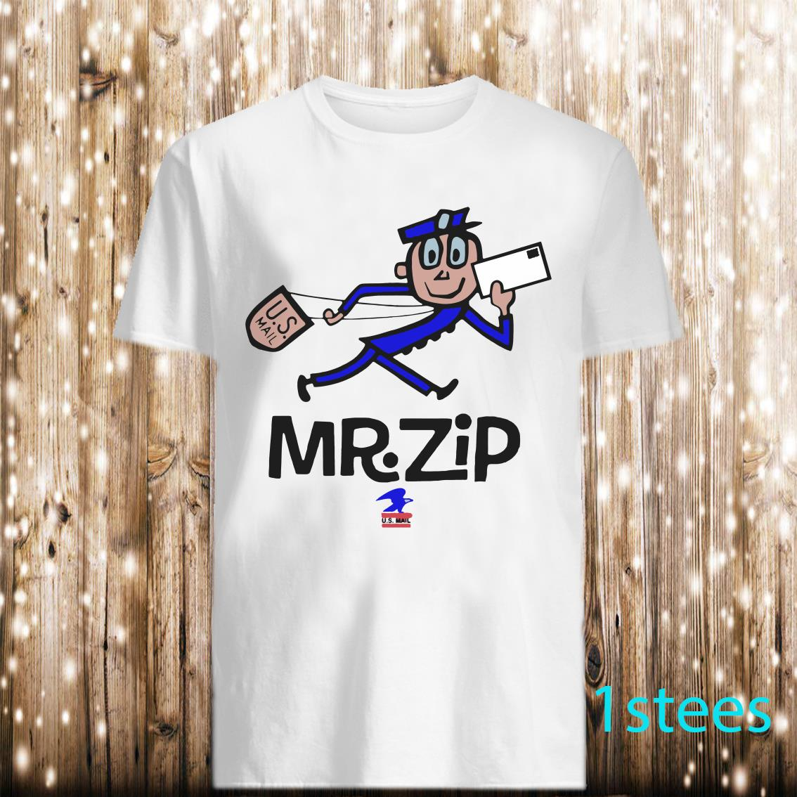 Mr.Zip US MAIL USA post anime vintage type Shirt