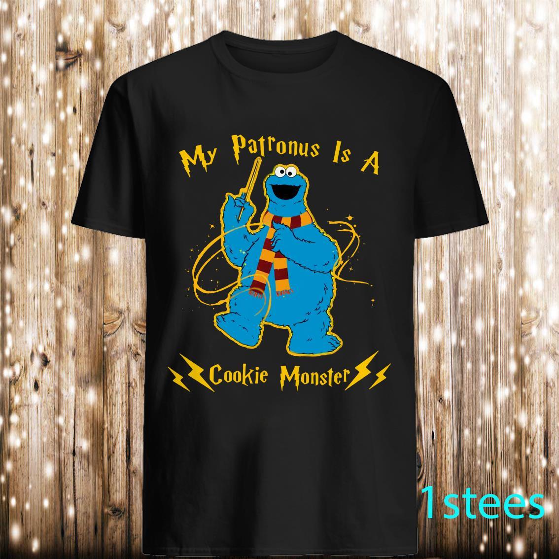 My patronus is a cookie Monster
