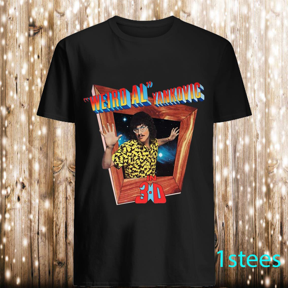 Weird AL Yankovic in 3D Graphic Shirt