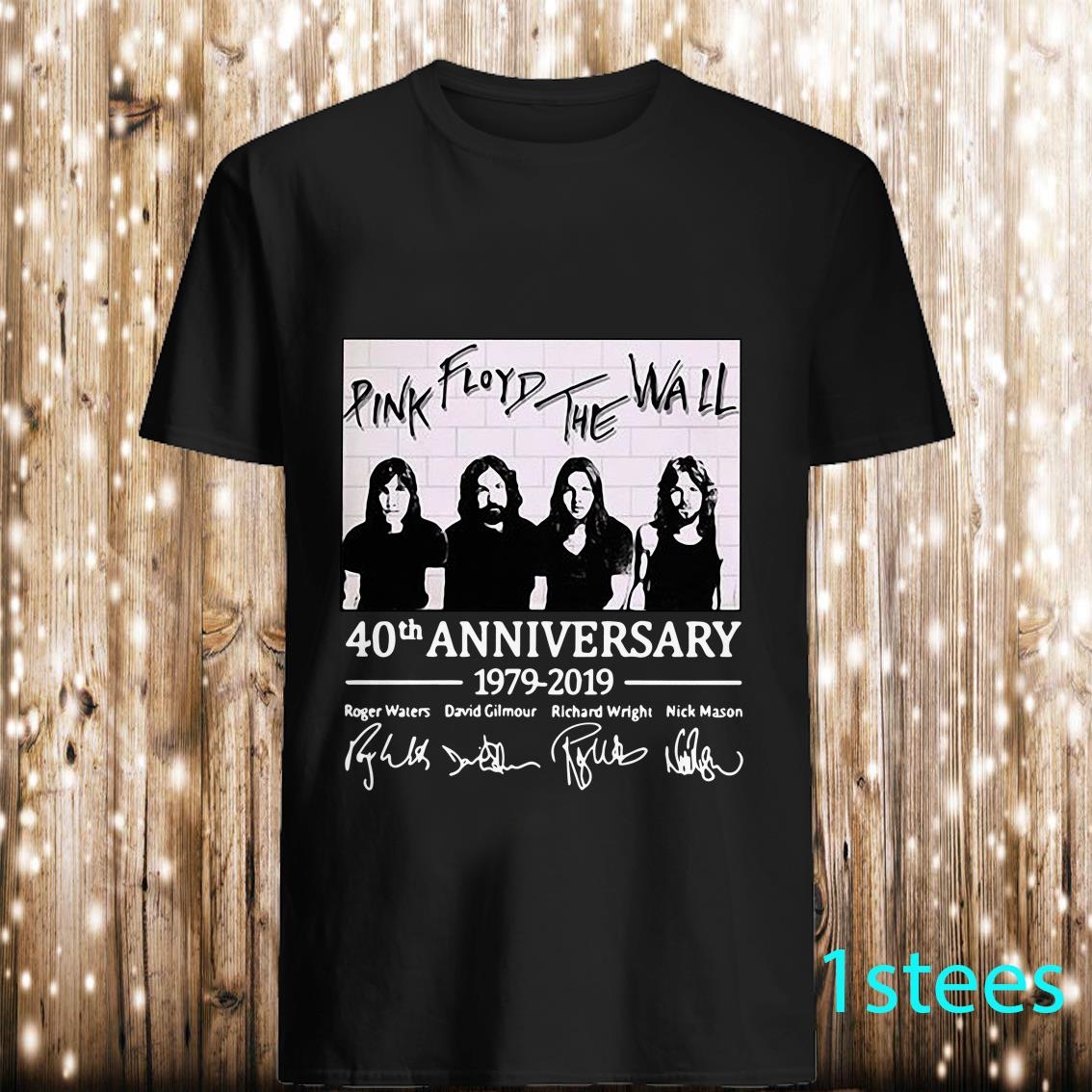 Pink Floyd The Wall 40Th Anniversary Signed Shirt