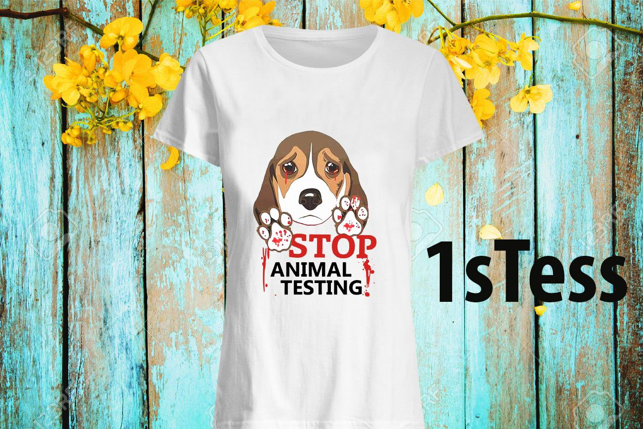 Stop Animal Testing Women's T-shirt