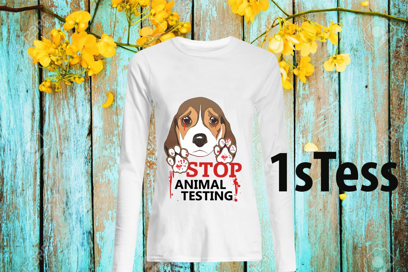 Stop Animal Testing Long Sleeved