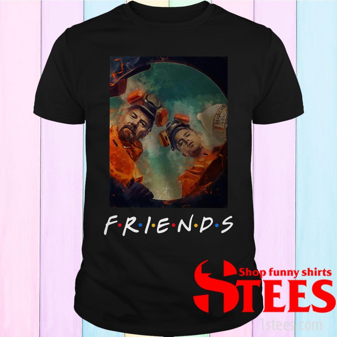 Breaking Bad Walt And Jesse Friends Shirt