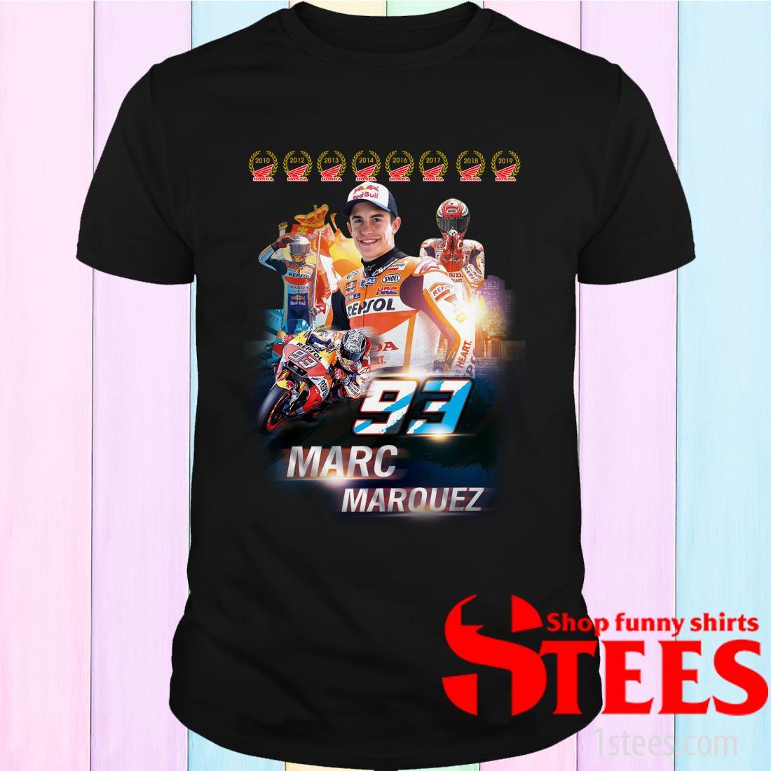 Repsol 93 Marc Marquez Signature Shirt