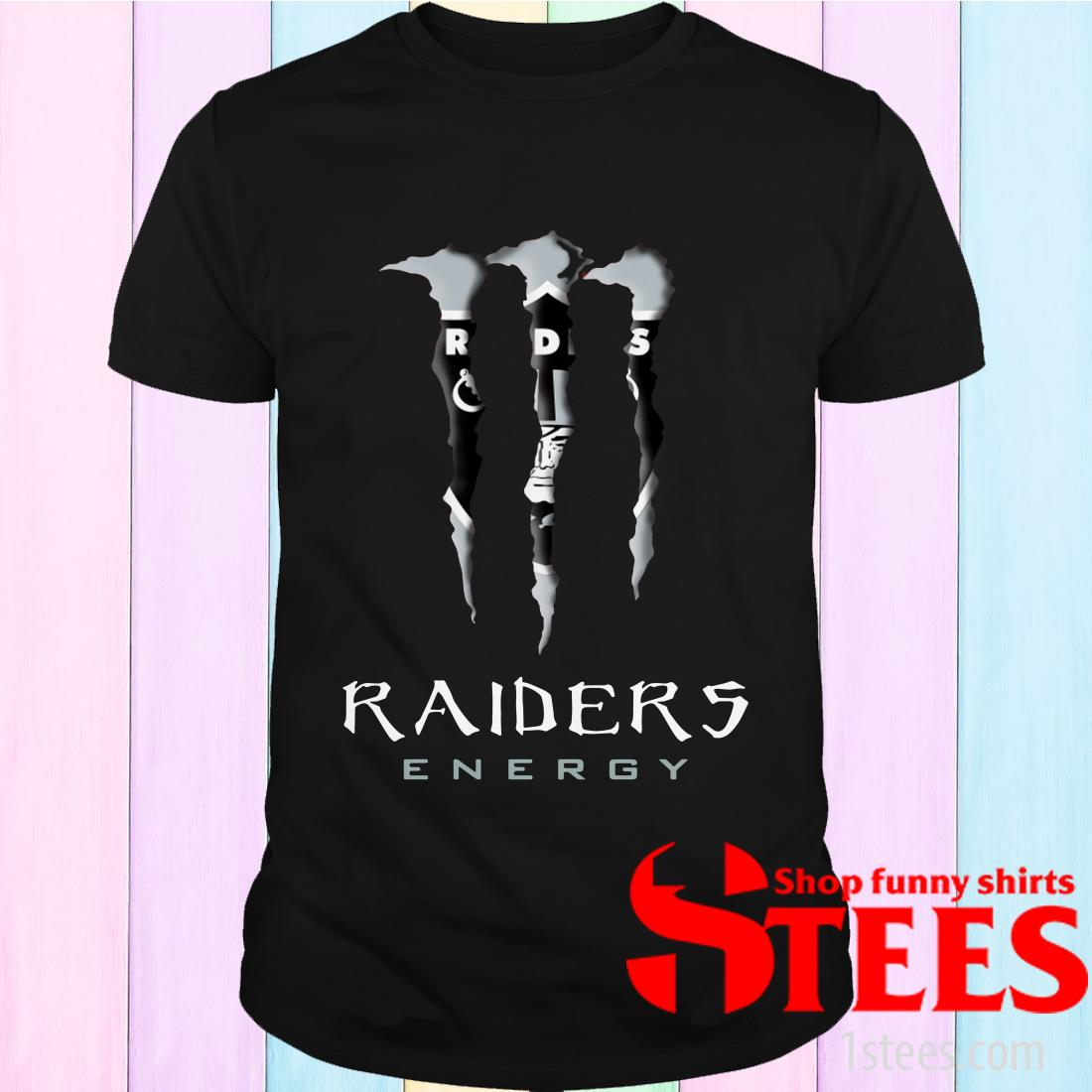 Monster Tennessee Raiders Energy Shirt