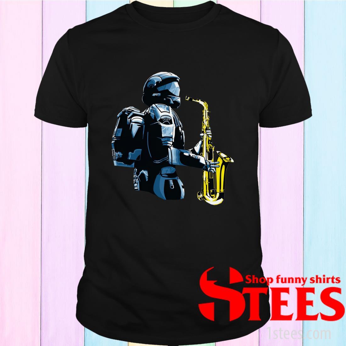 Halo 3 Odst Saxophone Shirt