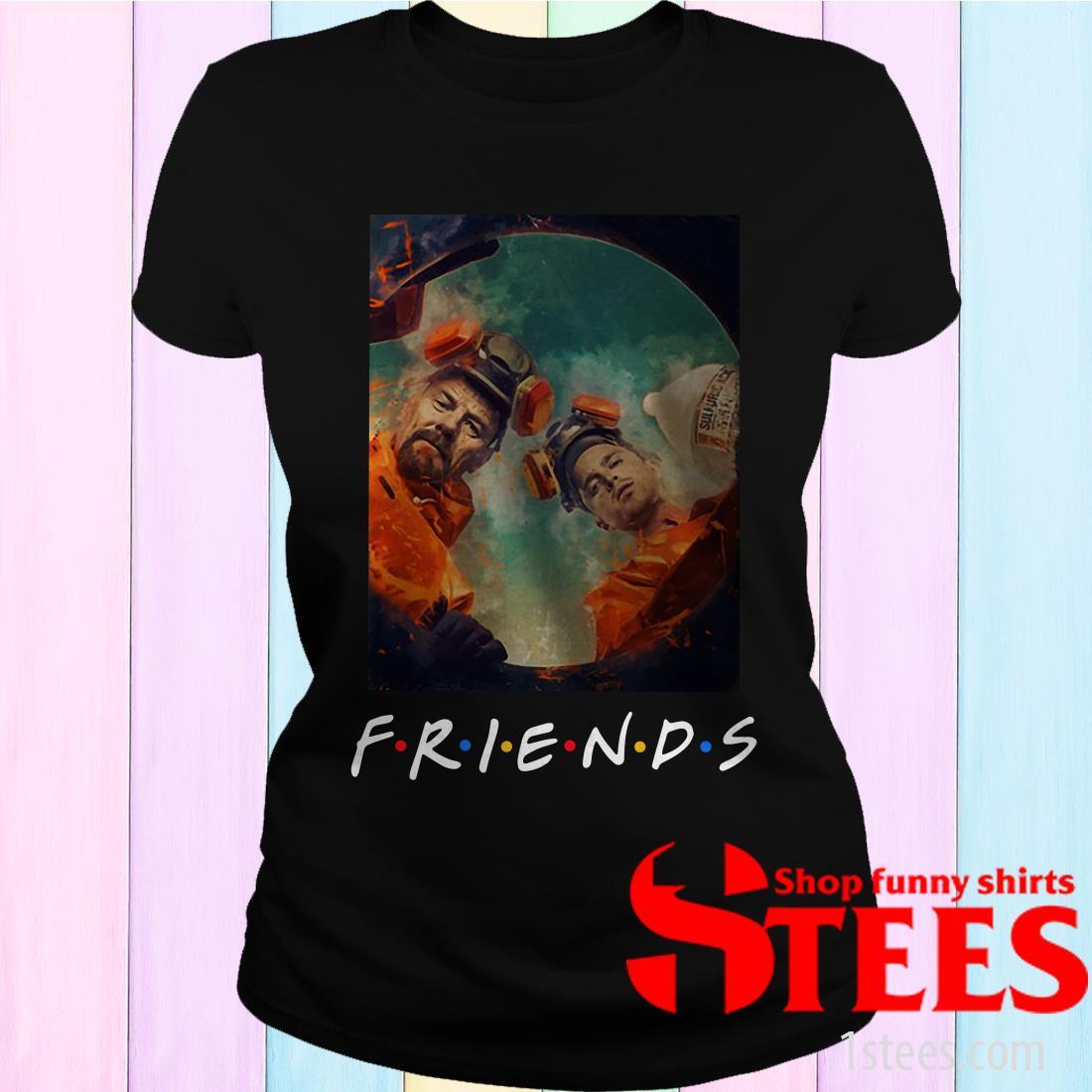 Breaking Bad Walt And Jesse Friends Women's T-Shirt