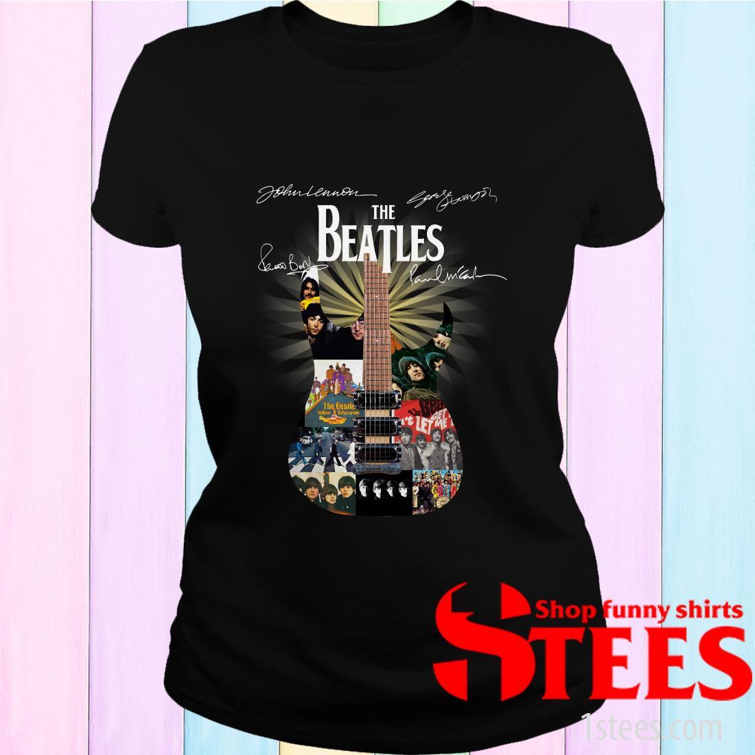 The Beatles Guitar Signature Shirt