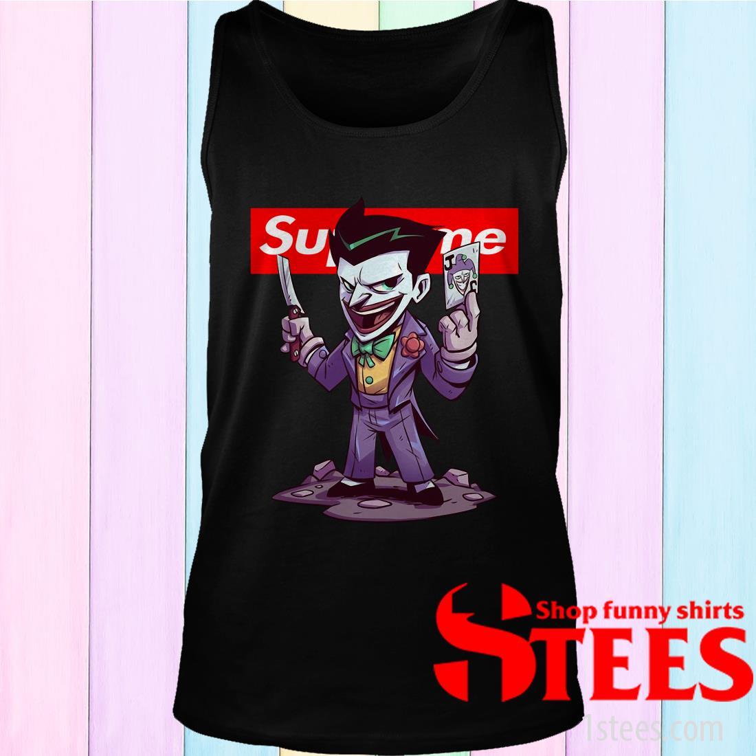 Supreme vs Gucci Joker Chibi Shirt