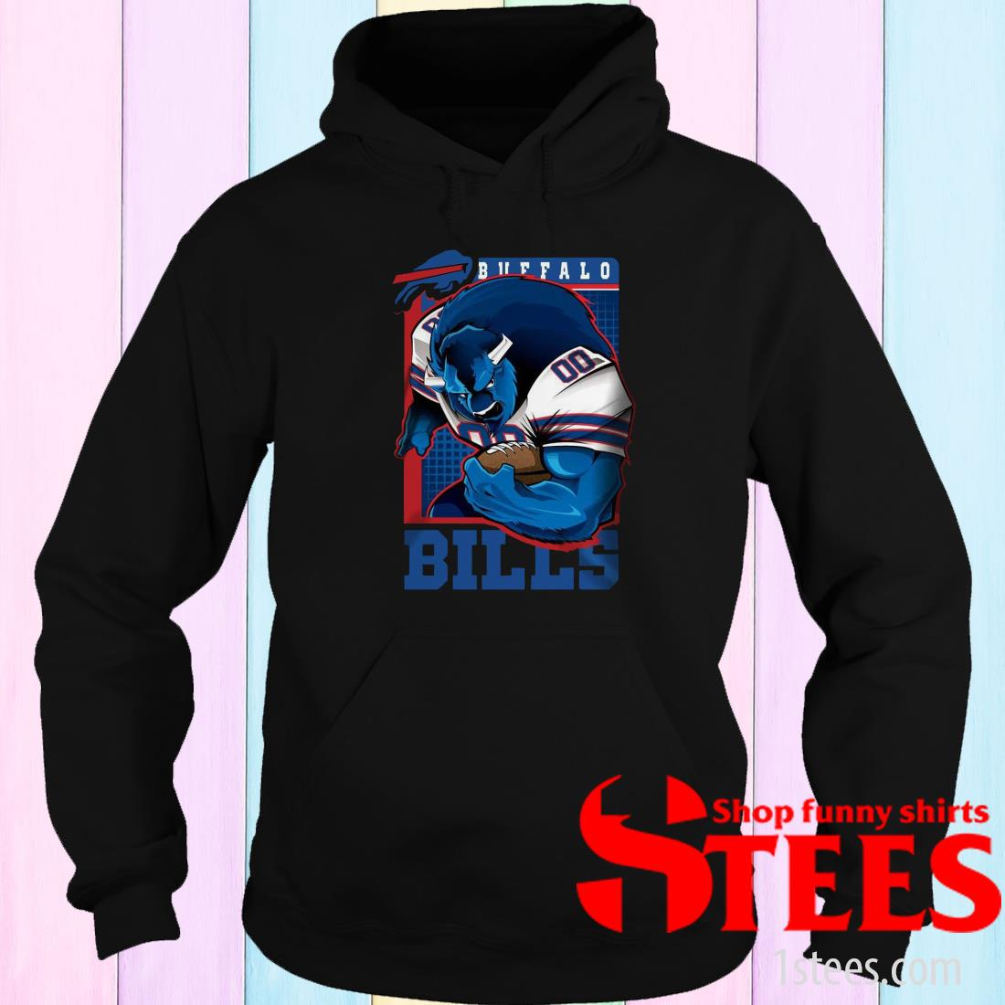Official Buffalo Bill NFL Hoodie
