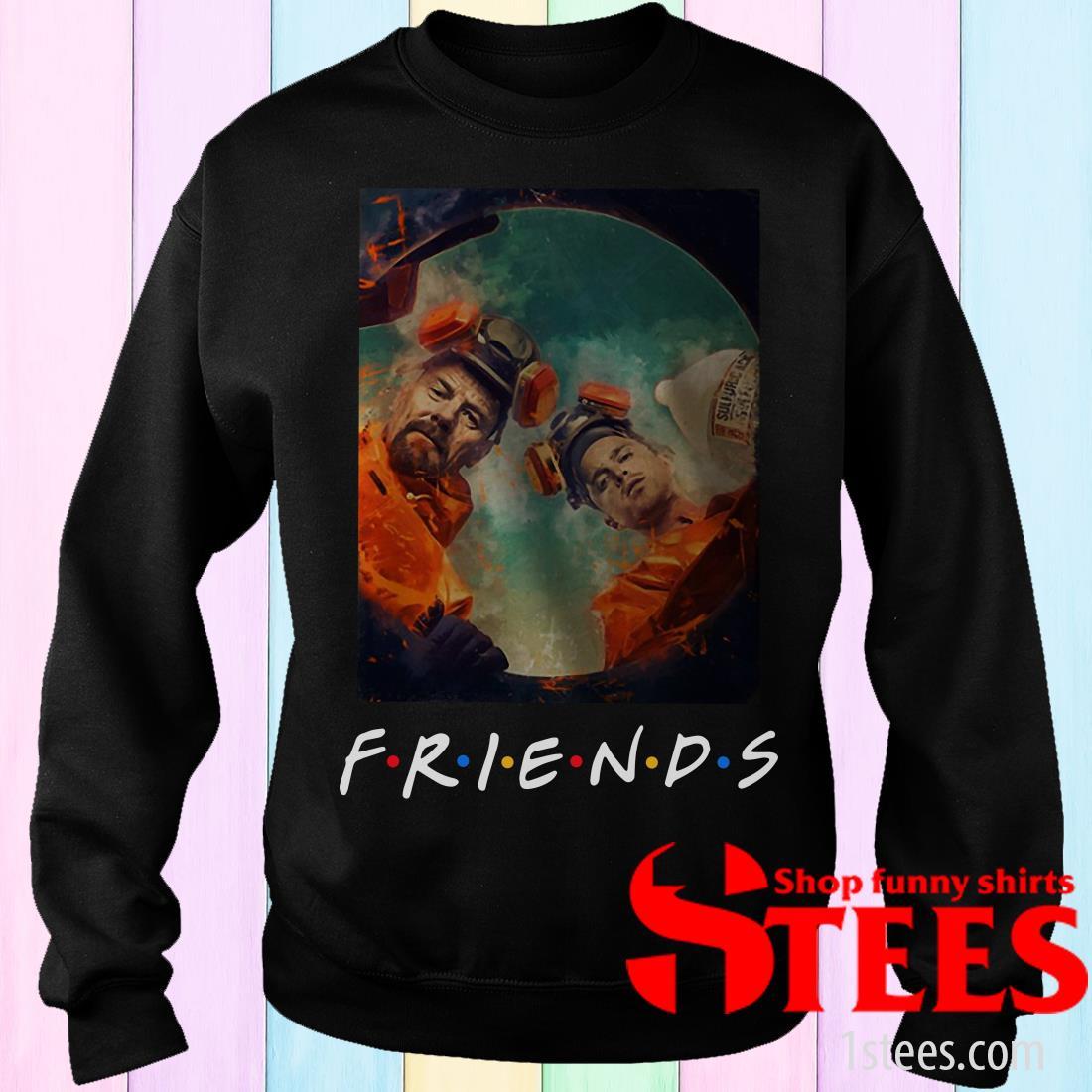 Breaking Bad Walt And Jesse Friends Sweatshirt