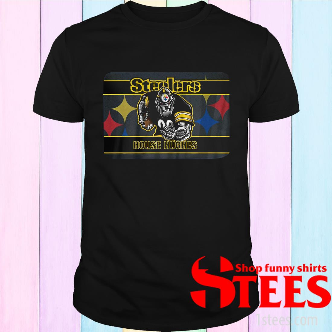 Pittsburgh Steelers House Hughes Shirt