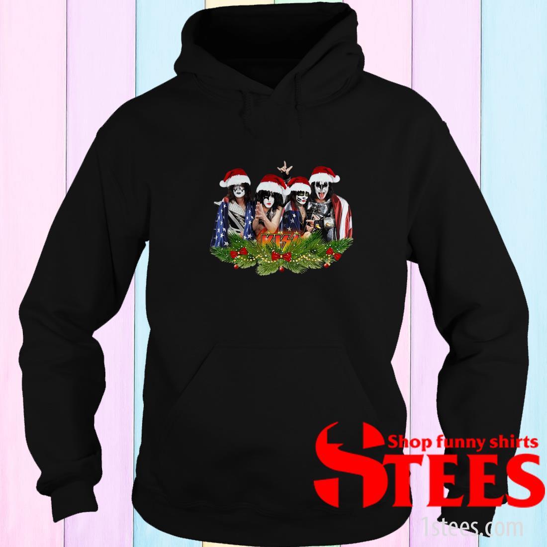 Kiss Band Santa Christmas Sweater