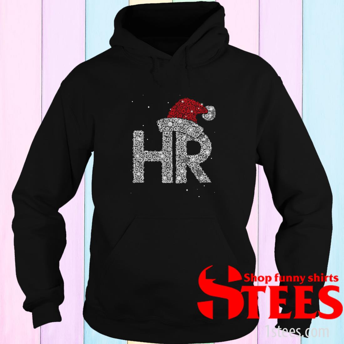 Santa HR Human Resources Diamond Christmas Sweatshirt