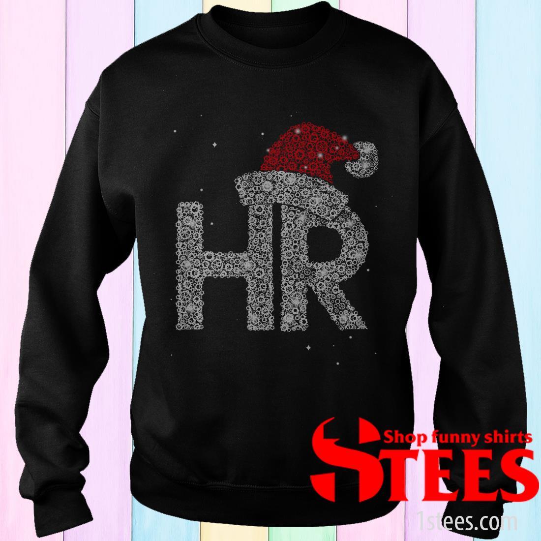 Santa HR Human Resources Diamond Christmas Sweatshirt