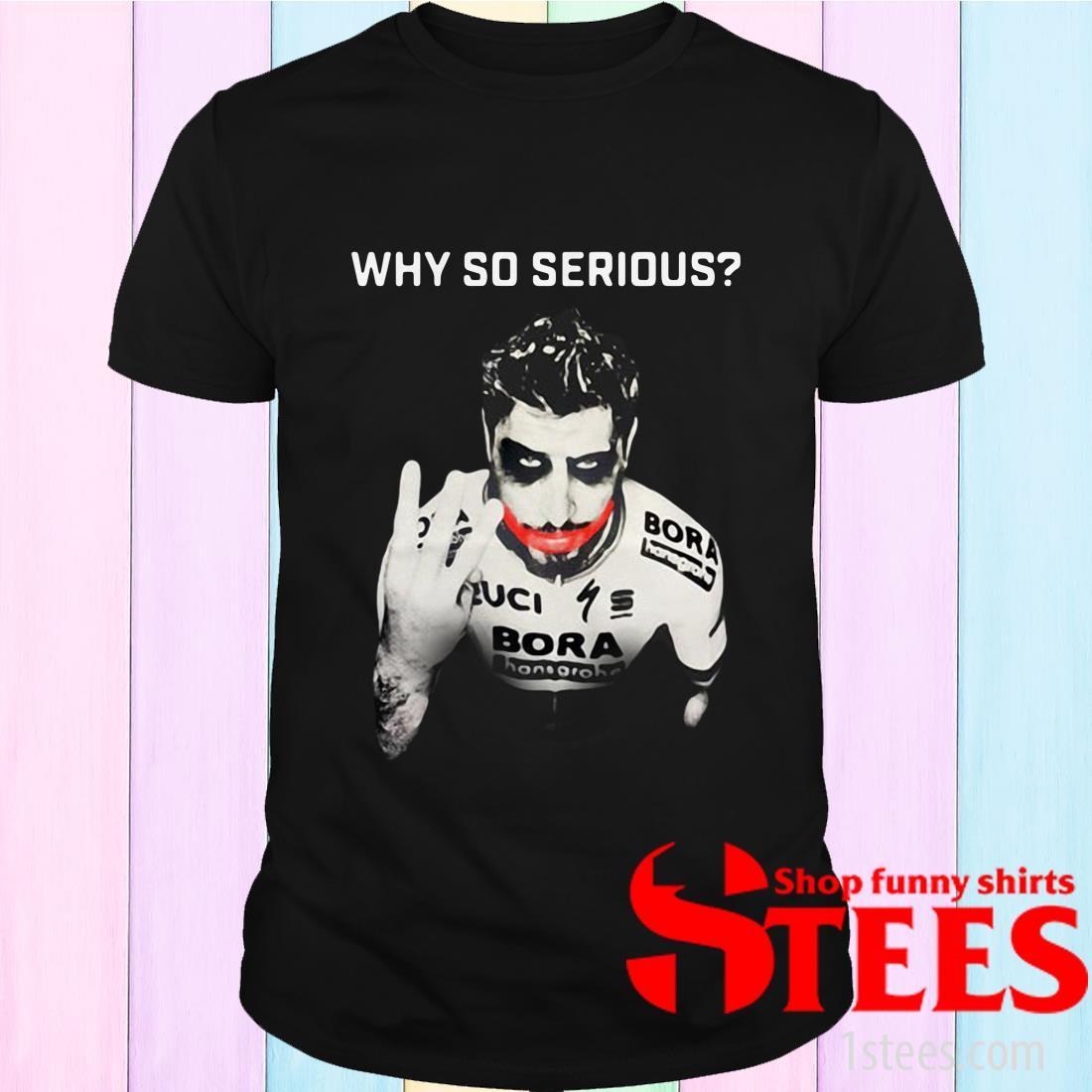 Peter Sagan Joker Why So Serious Shirt