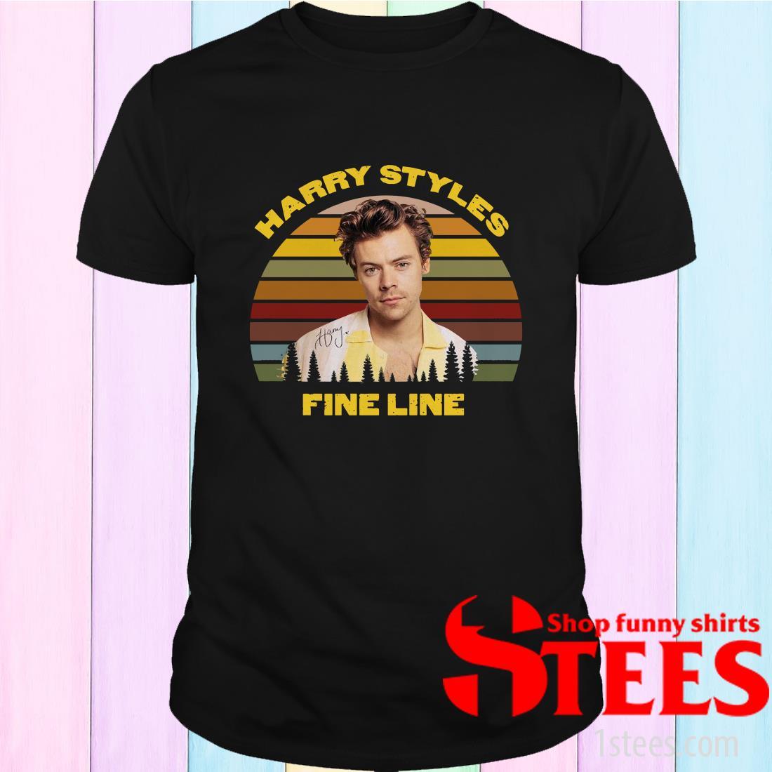Harry Styles Fine Line Vintage Shirt