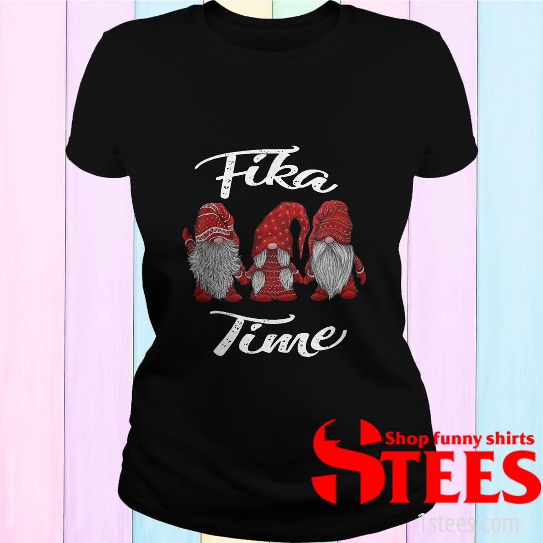 Christmas Gnomes Fika Time Sweatshirt