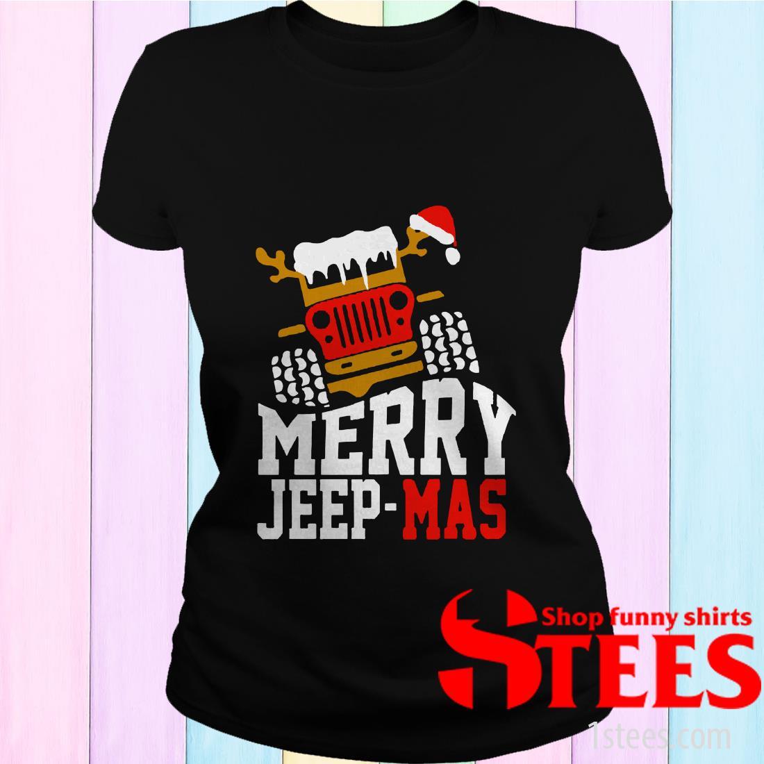 Merry Jeep Mas Women's T-shirt