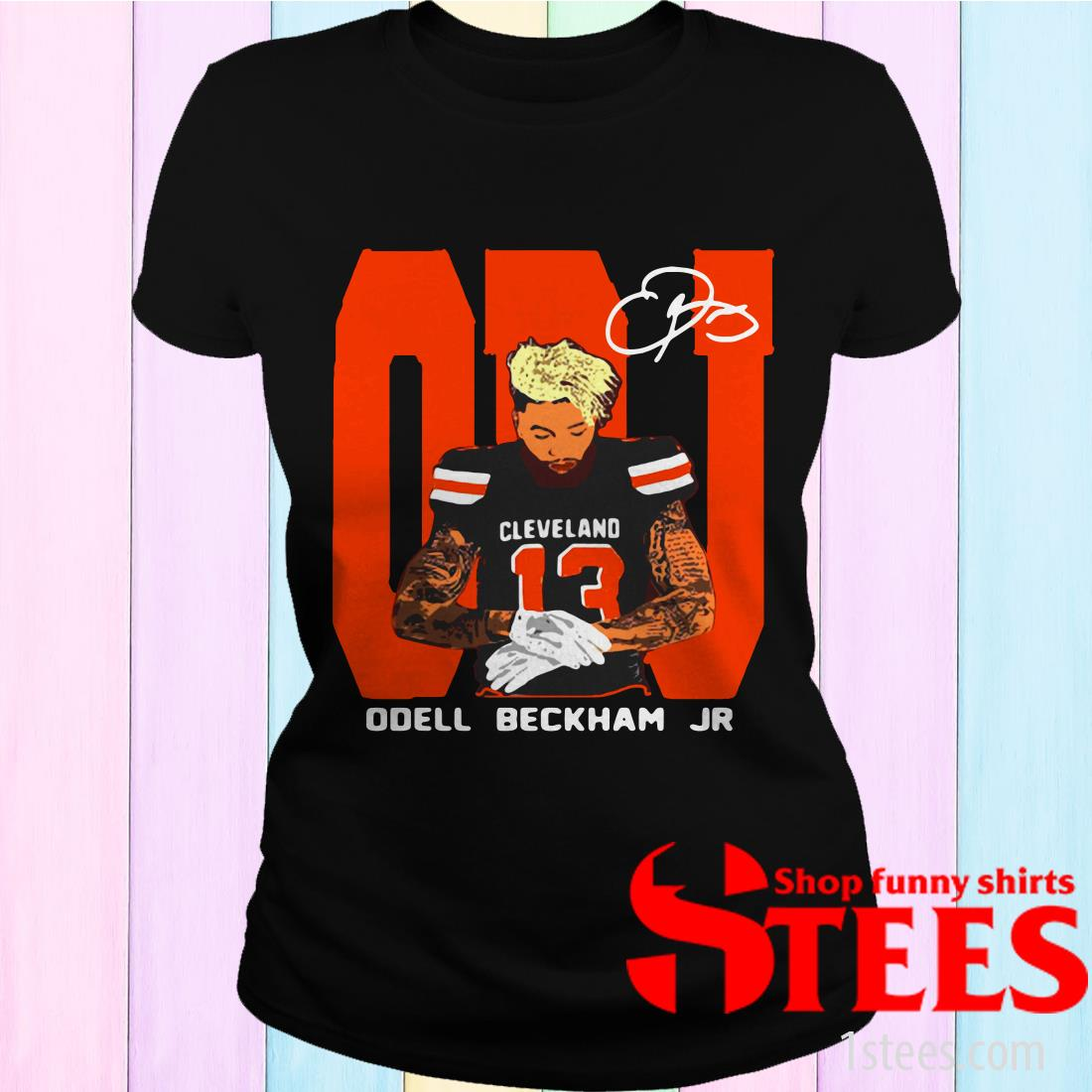 Odell Beckham Jr. Cleveland Browns Signature shirt