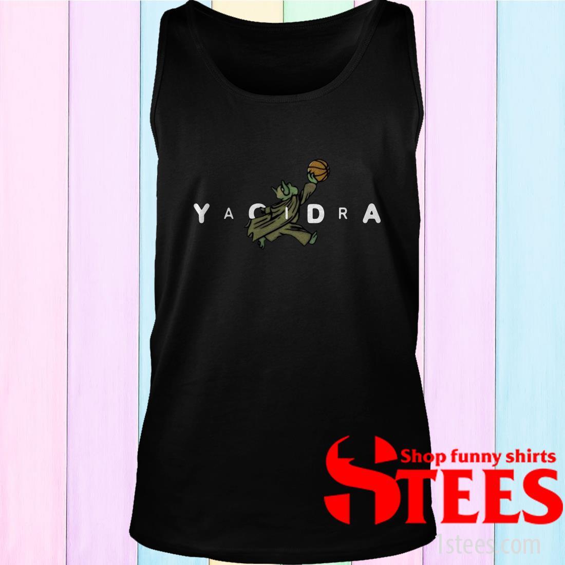 Yoda Yaoidra Jumpman Air Jordan Shirt