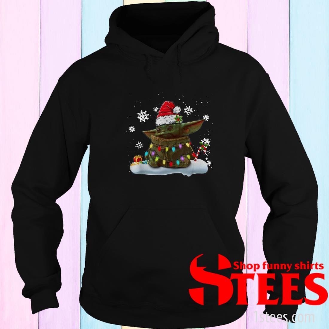 The Mandalorian Baby Yoda Christmas Sweatshirt
